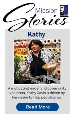 Goodwill Success Stories - Kathy