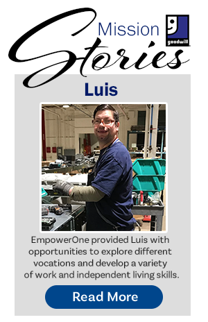 Goodwill Mission Stories - Luis