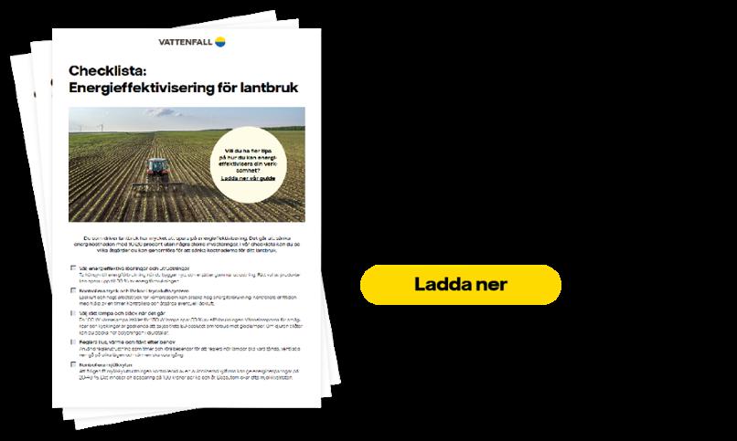 checklista energieffektivisering - lantbruk