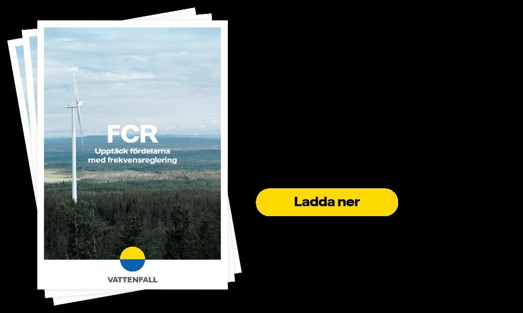 FCR - Få betalt för att bidra till förnyelsebar elproduktion