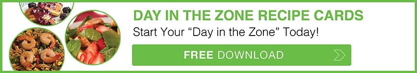 Day in the Zone Recipe Cards Free Download
