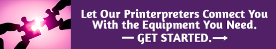Let our printer and copier connect you with the equipment you need.  Click Here to Get Started