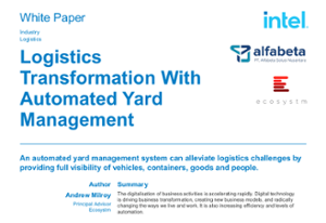 Whitepaper - Logistics Transformation with Automated Yard Management