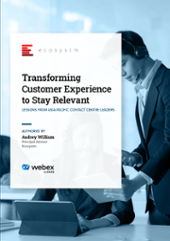 Whitepaper – Transforming Customer Experience to Stay Relevant