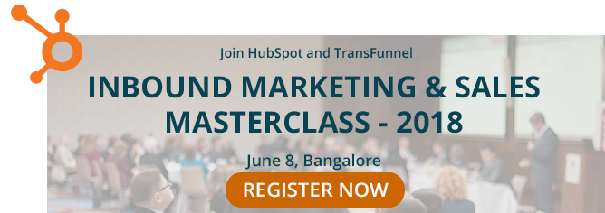 INBOUND MARKETING AND SALES MASTERCLASS
