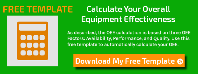FREE Template: Calculate Your OEE