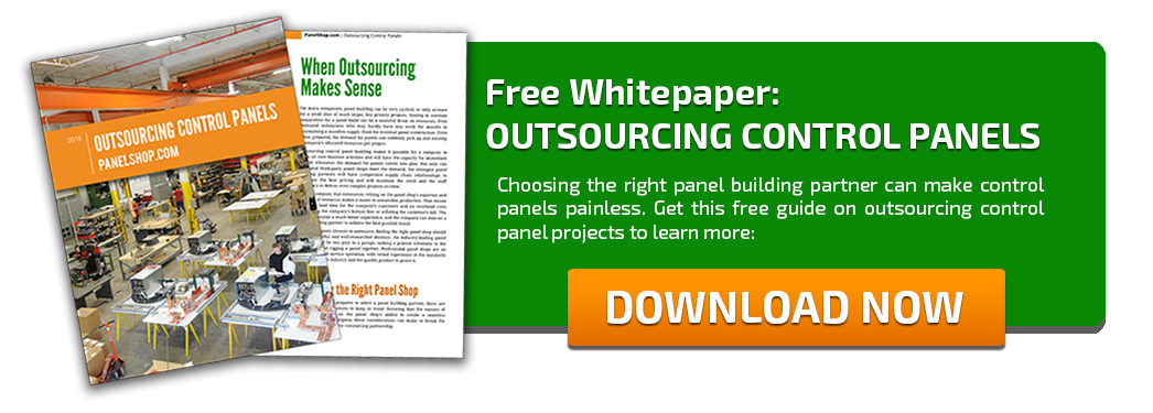 Outsourcing Control Panels White Paper