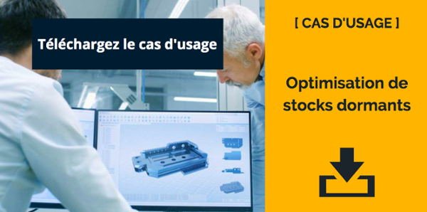 CTA cas d'usage Optimisation de stocks dormants
