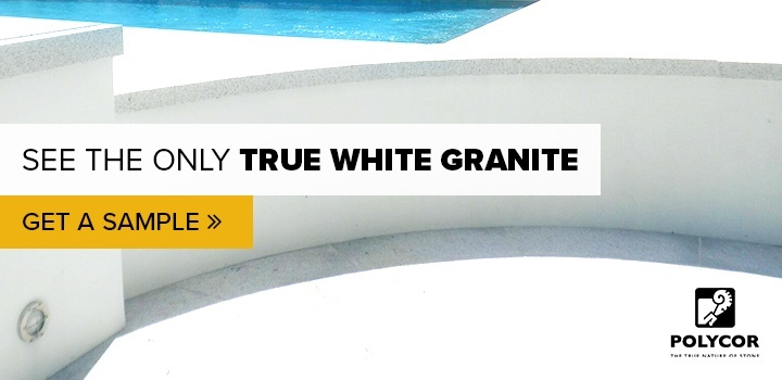 See the only true white granite. Get a sample.