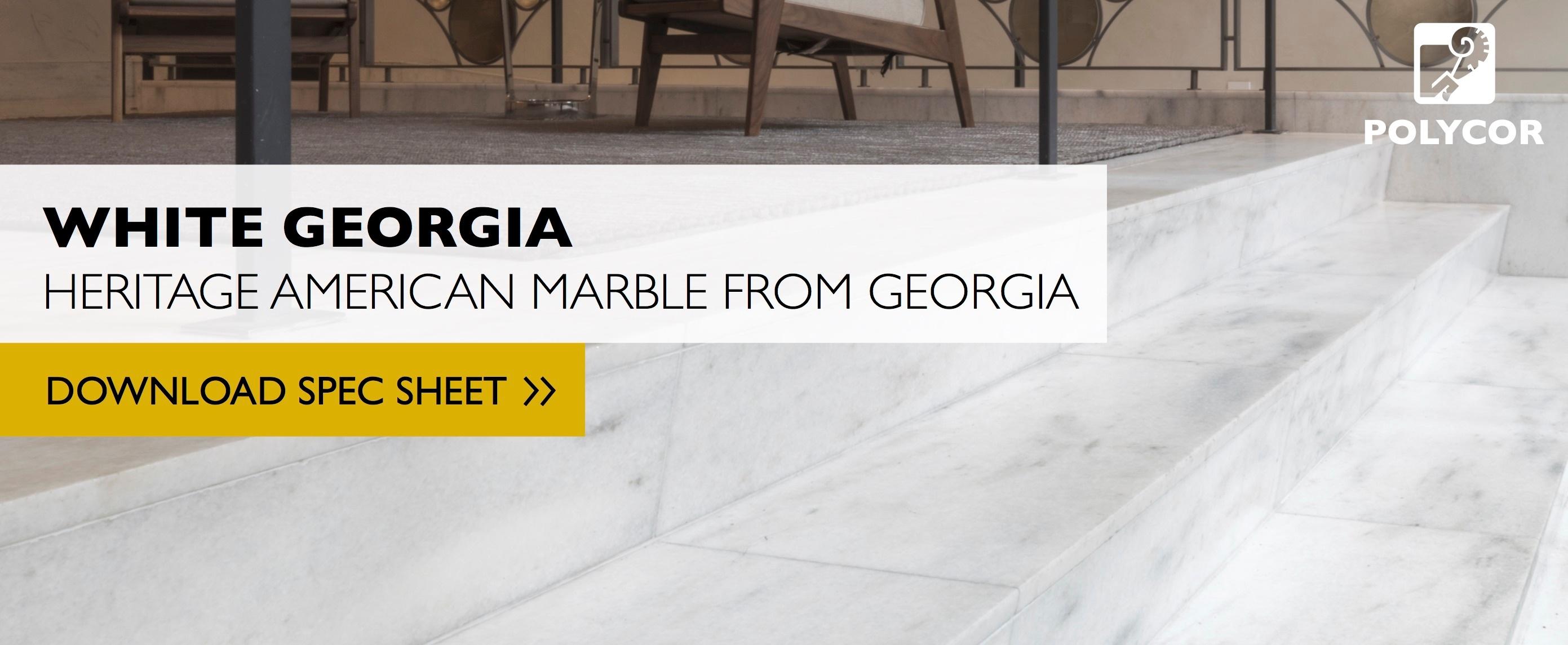 white georgia american marble specs
