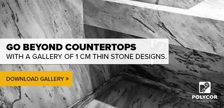 thin marble and thin granite design slideshare from Polycor