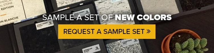 Sample a set of new colors. Request a sample set.