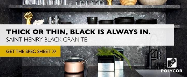 Saint Henry Black Granite Spec Sheet