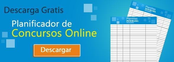 Descarga Gratis el Planificador de Concurso Online
