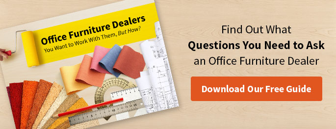 FInd Out What Questions You Need to Ask an Office Furniture Dealer. Download Our Free Guide.