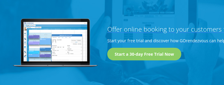 Offer online booking to your customers for free Start your free trial and  discover how GOrendezvous can help you increase your revenue.Start a 30-day  Free Trial Now