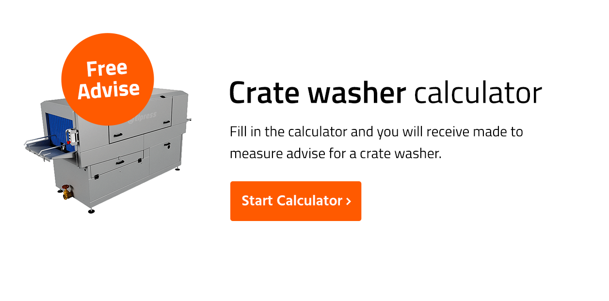 Crate washer calculator
