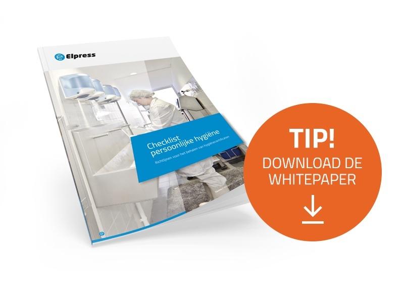 Download de whitepaper 'Checklist persoonlijke hygiëne'