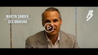 En sommarhälsning från Bravuras VD Martin Sander