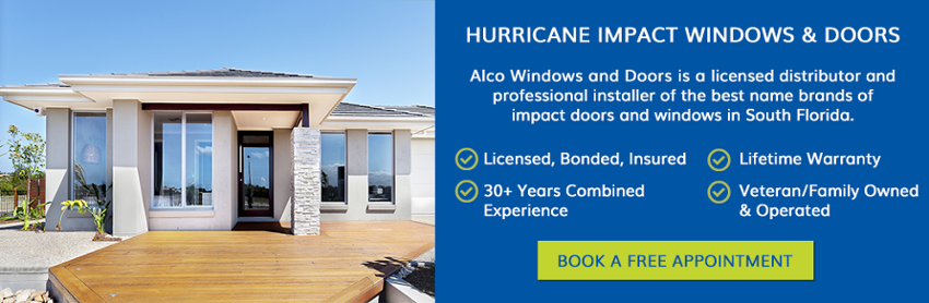 Hurricane Impact Windows & Doors
