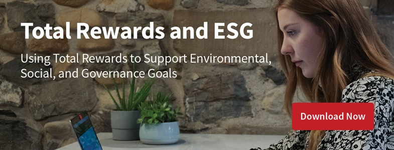 Total Rewards and ESG Infographic