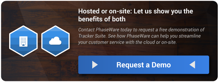 Hosted & On-Site Customer Support