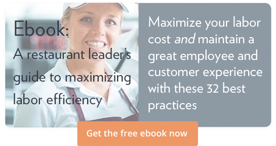"Get the free ebook ""A restaurant leader's guide to maximizing labor efficiency"""