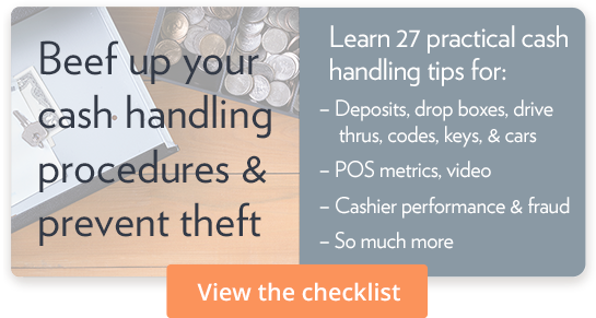 Beef up your cash handling procedures & prevent theft: View the checklist