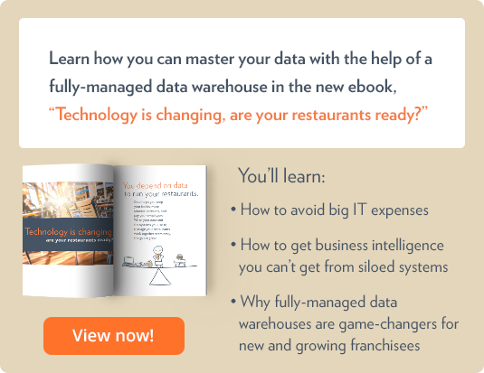 Learn how you can master your data with the help of a data management platform in the new ebook Technology is changing, are your restaurants ready?