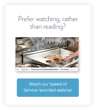 Prefer watching, rather than reading? Watch our Speed of Service recorded webinar