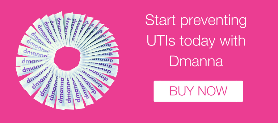 Start preventing UTIs today with Dmanna