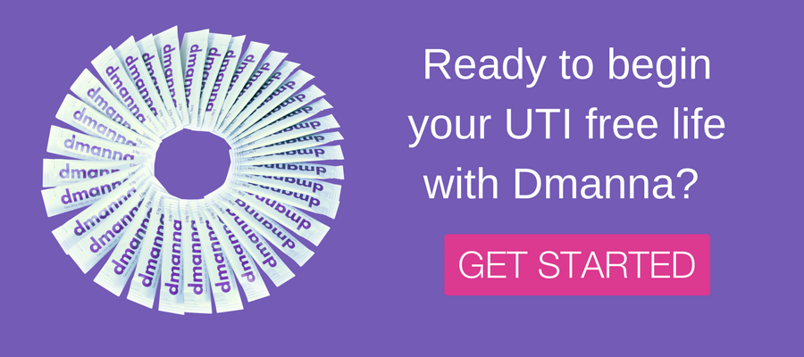 Ready to begin your UTI free life with Dmanna?