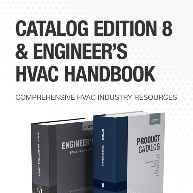 Price Product Catalog & Engineer's HVAC Handbook
