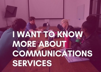 Learn more about communications services