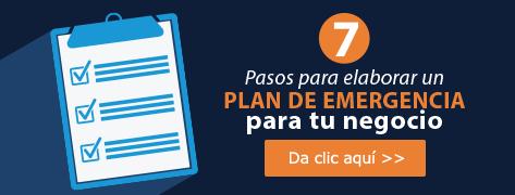 7 Pasos para elaborar un plan de emergencia para tu negocio