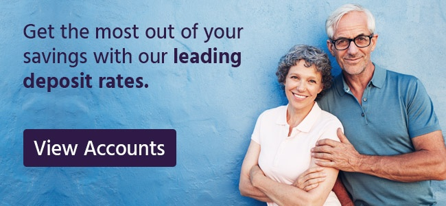 Get the most out of your savings with our leading deposit rates.