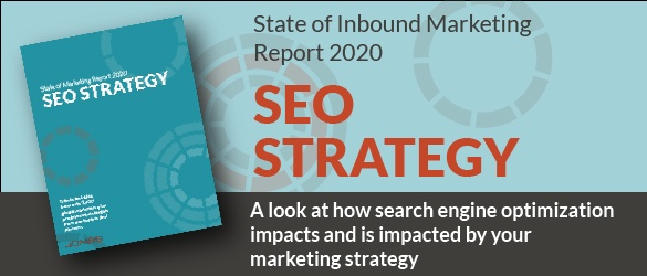 2020 State of Inbound Marketing Report - SEO Strategy
