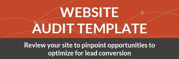 Website Audit Template