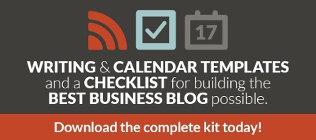 Business Blog Tool Kit CTA