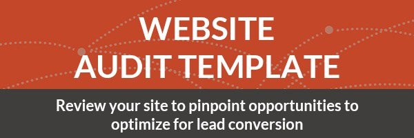 Website Audit Template