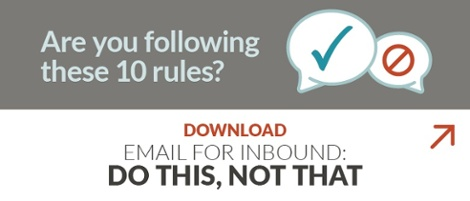 Email For Inbound: Do This, Not That