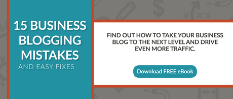 15 Business Blogging Mistakes ebook