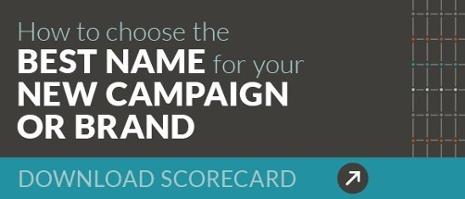 Scorecard for Brands & Campaign Names