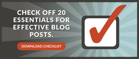 blog essentials checklist