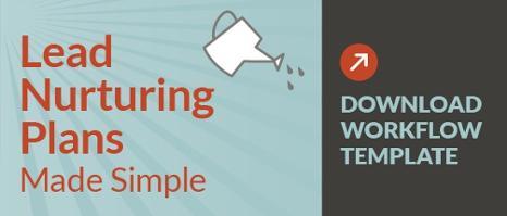 lead nurturing workflow template