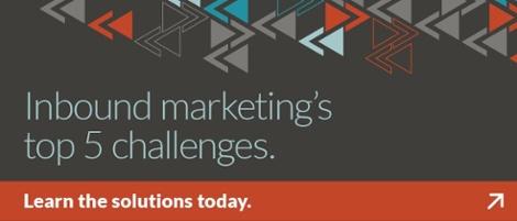 5 Inbound Marketing Challenges problem/solution paper