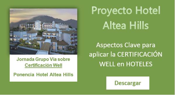 Descarga la presentación de la Ponencia sobre certificación WELL en Hoteles