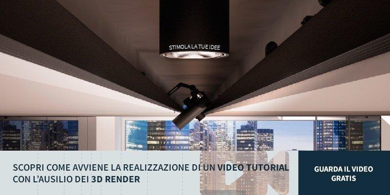 video tutorial con i 3d render