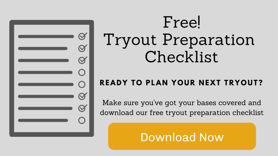 Tryout Preparation Checklist