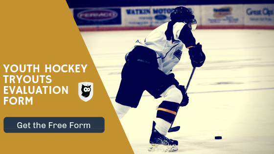 youth hockey tryouts eval form